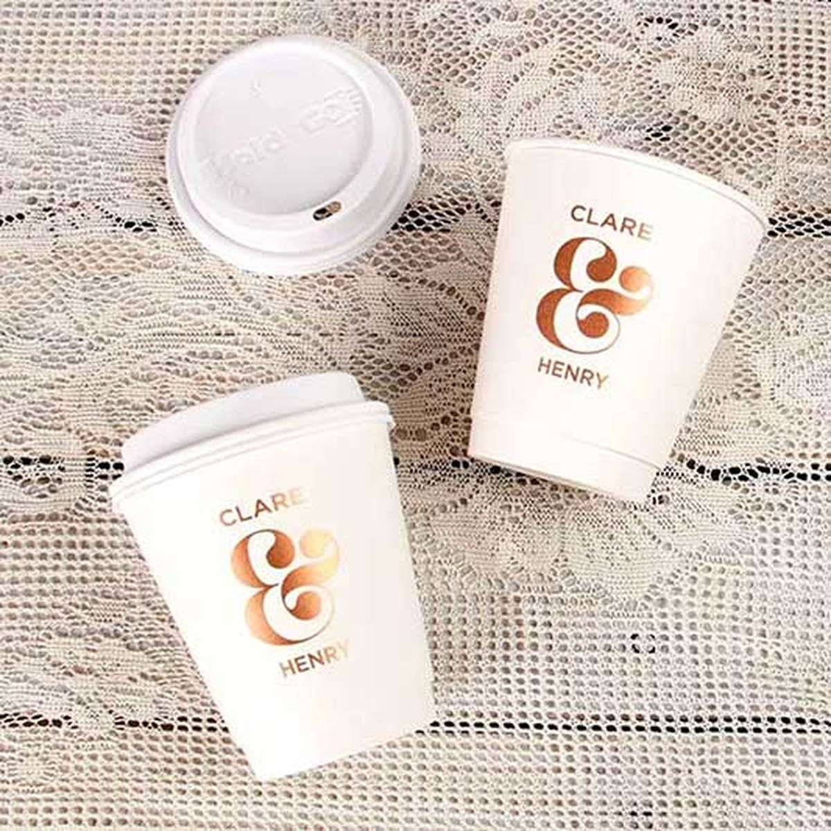 custom 12 ounce paper coffee cup