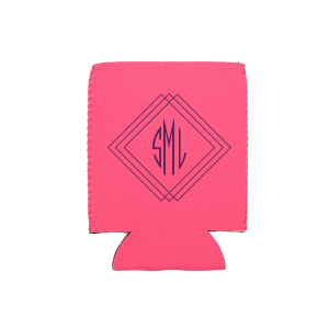 Angles Monogram Can Cooler