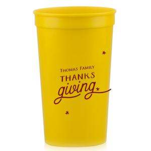 Family Thanksgiving Stadium Cup