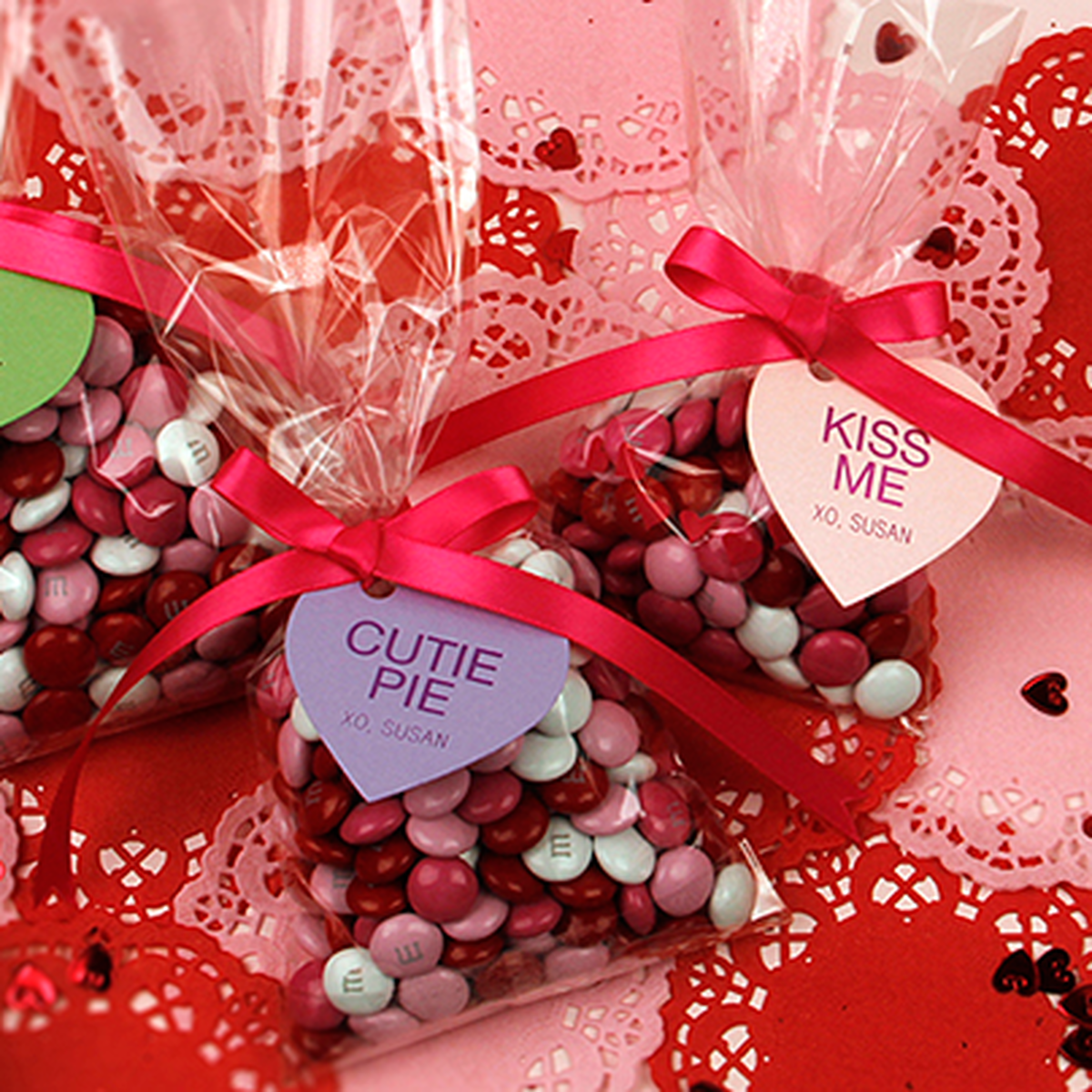 Valentine's Day Personalized Party Favor Tags