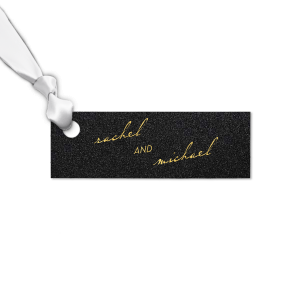 Vintage Modern Script Small Tag
