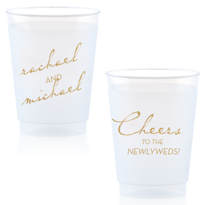 Vintage Modern Newlywed Frost Flex Cup