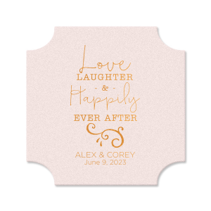 Love Laughter Coaster