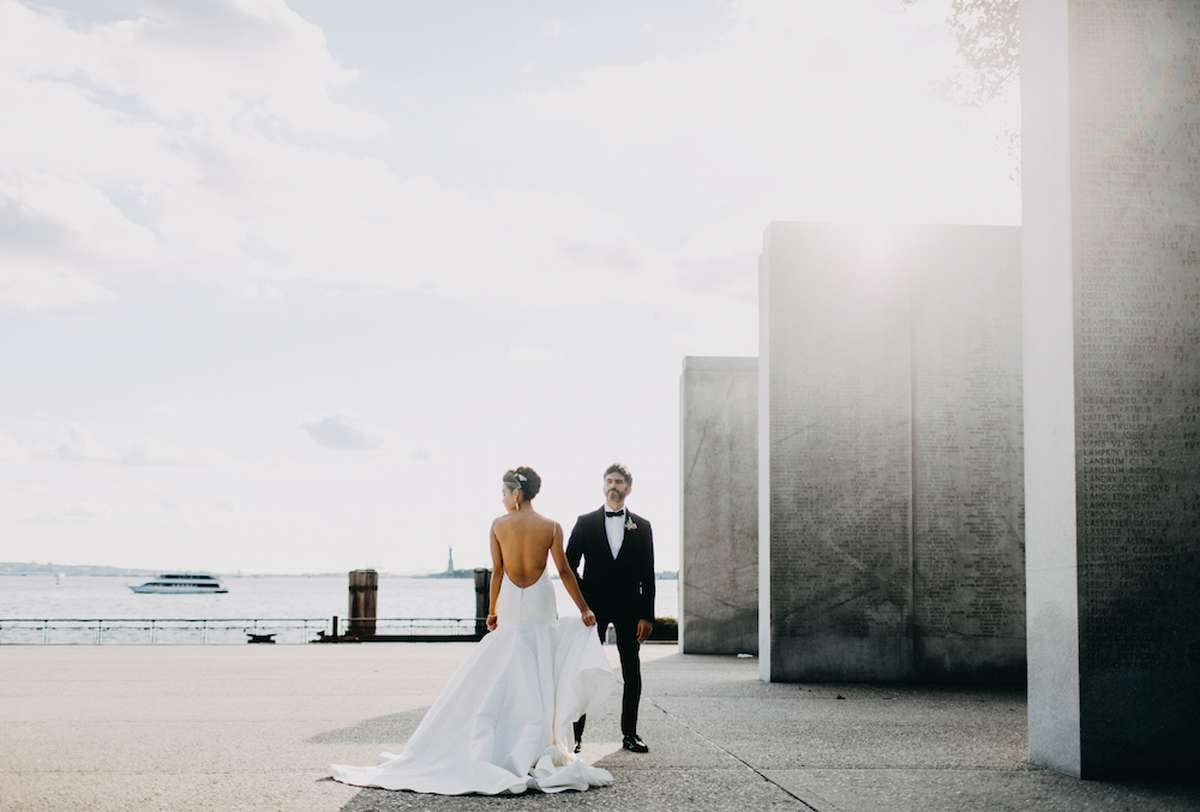 new york bridal photoshoot with bachelor shoreline joynt