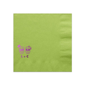 Skull Couple Napkin