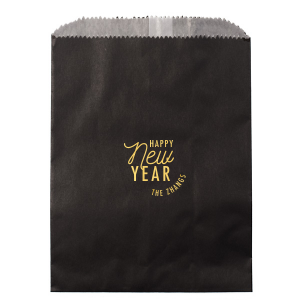 ForYourParty's personalized Shiny 18 Kt Gold Small Cellophane Bag with Shiny 18 Kt Gold Foil will impress guests like no other. Make this party unforgettable.