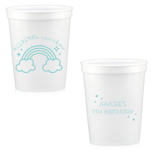 Rainbow Birthday Stadium Cup
