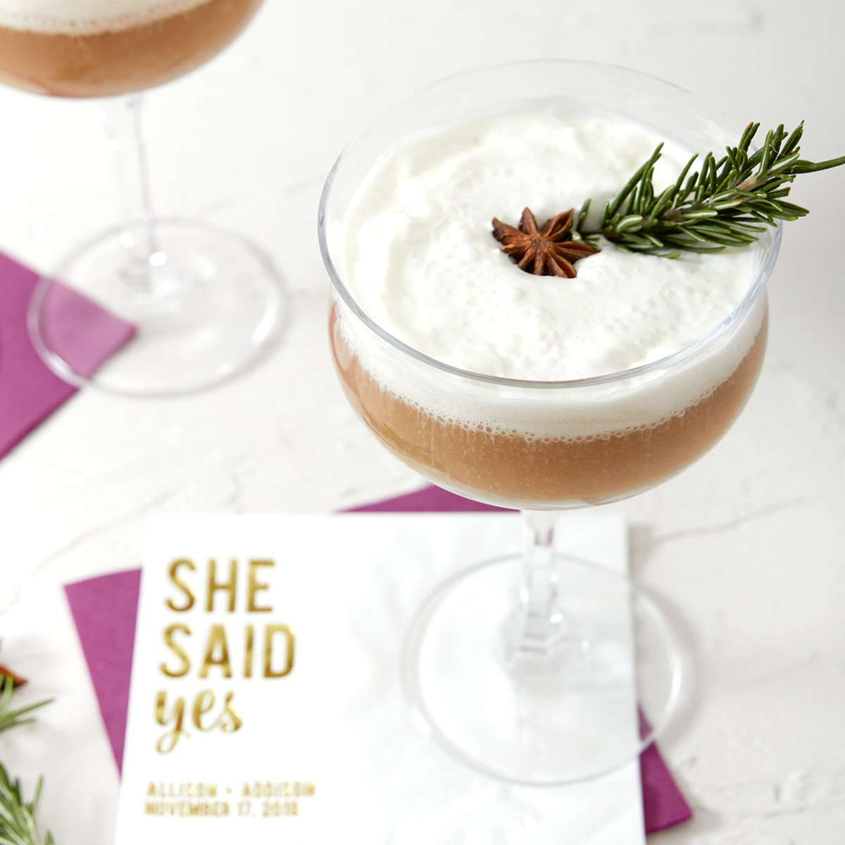 Warm Spiced Rum and Cream cocktail recipe