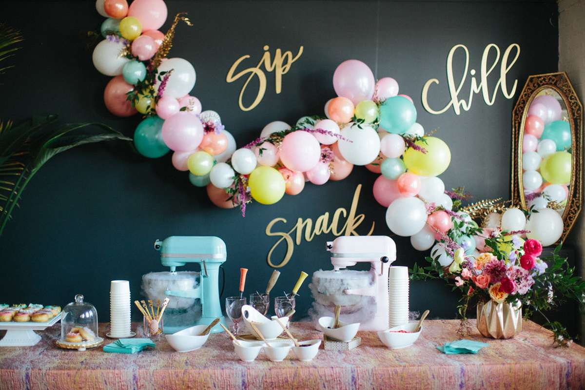 how to decorate for a dessert party