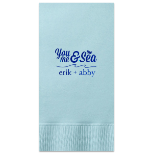 The ever-popular Watercolor Ocean Cocktail Napkin with Shiny Royal Blue Foil has a Wave Flourish graphic and is good for use in Beach/Nautical, Accents themed parties and are a must-have for your next event—whatever the celebration!