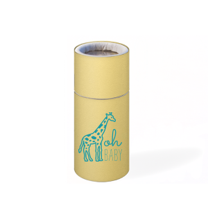 The ever-popular Poptone Mimosa Barrel Matchbox with Matte Teal/Peacock Foil Color has a Giraffe graphic and is good for use in Animals themed parties and will impress guests like no other. Make this party unforgettable.