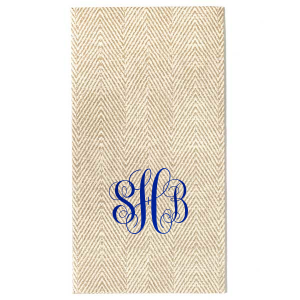 Custom design your personalized wedding napkins with a romantic monogram that is both classic and timeless. Design your custom napkins as a hostess gift, or for a bridal shower or wedding. Your party deserves this type of personalized perfection!