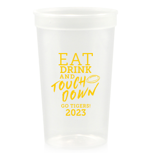 Eat Drink And Touchdown Stadium Cup