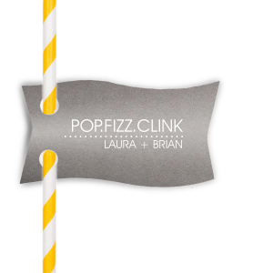 Pop Fizz Clink Straw Tag