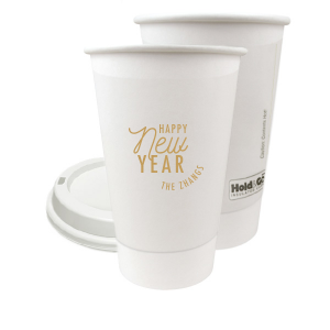 The ever-popular Gold Ink 8 oz Paper Coffee Cup with Lid with Gold Ink Cup Ink Colors can't be beat. Showcase your style in every detail of your party's theme!
