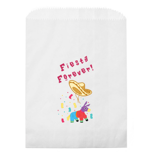 Our custom Kraft Brown Photo/Full Color Party Bag with Matte Fuchsia Ink Digital Print Colors will give your party the personalized touch every host desires.