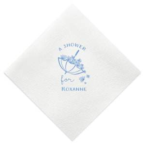 A Flower Shower Napkin
