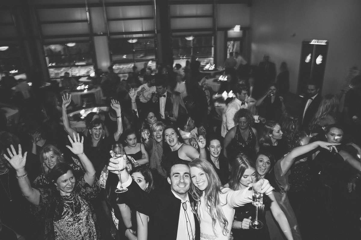 organic winter wedding reception in nashville