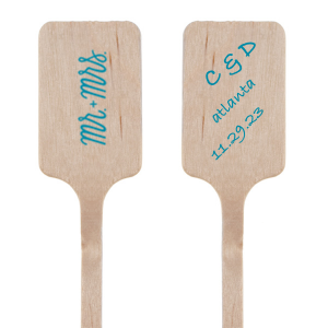 Mr. and Mrs. Stir Stick