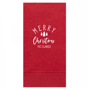 ForYourParty's chic Convertible Red Cocktail Napkin with Matte White Foil has a Forest graphic and is good for use in Christmas, Floral themed parties and will impress guests like no other. Make this party unforgettable.