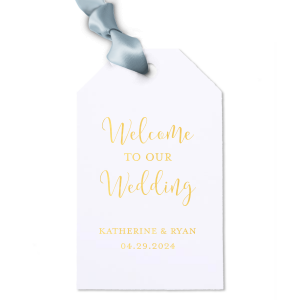 Welcome Gift Tag