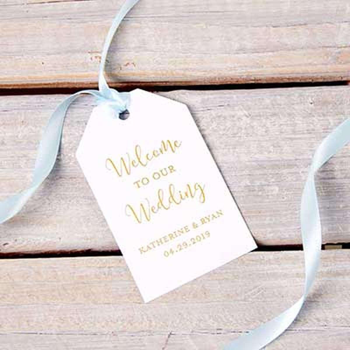 Custom Luggage Gift Tag