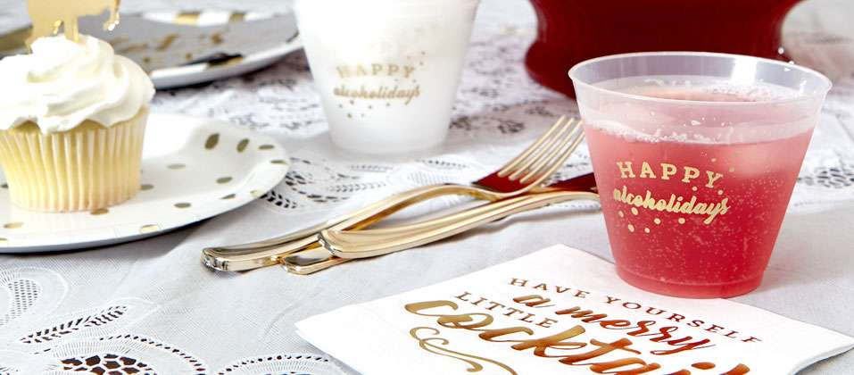 shop custom cups for your wedding, shower or event