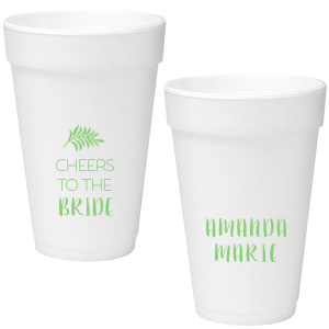 Leaf Cheers Foam Cup