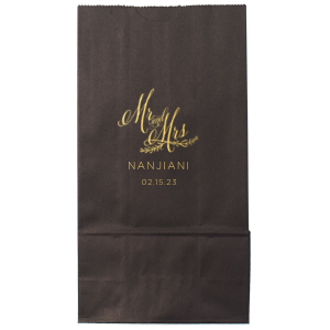 Mr And Mrs Wedding Bag