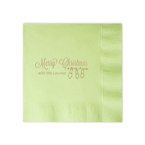 Our beautiful custom Honeydew Cocktail Napkin with Shiny Champagne Foil has a Lights graphic and is good for use in Holiday, Christmas themed parties and are a must-have for your next event—whatever the celebration!