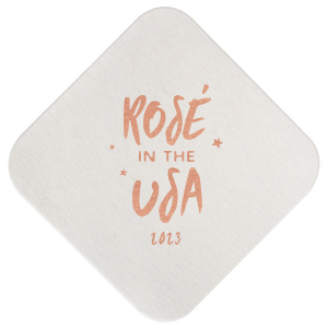 Rosé In The USA Coaster