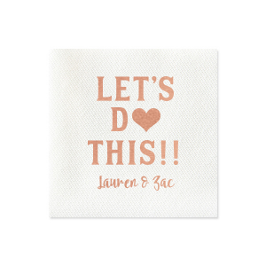 Let's Do This! Napkin