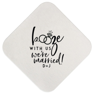 Booze With Us Coaster