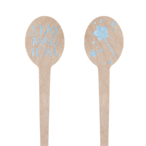 ForYourParty's chic Shiny Sky Blue Rectangle Stir Stick with Shiny Sky Blue Foil will look fabulous with your unique touch. Your guests will agree!