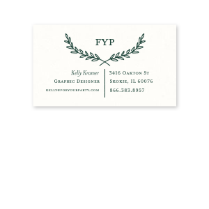 Branch Frame Business Card