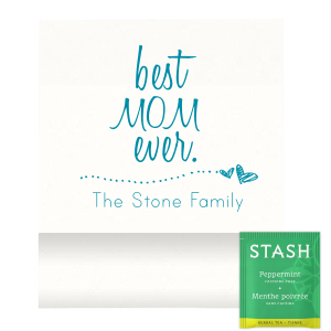 ForYourParty's personalized Strathmore White Tea Favor with Satin Teal / Peacock Foil has a Heart Line graphic and is good for use in Frames, Hearts, Wedding themed parties and couldn't be more perfect. It's time to show off your impeccable taste.