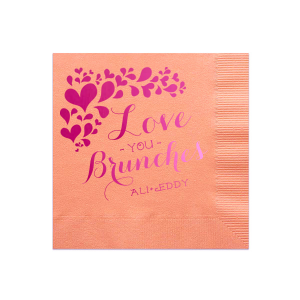 Love You Brunches Napkin