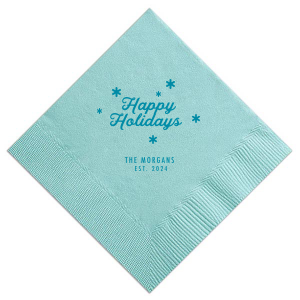 Holiday Napkins, Matches, Cups and Favors | For Your Party