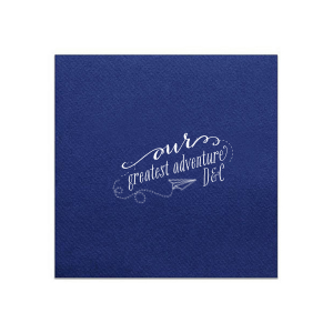 Our Greatest Adventure Napkin
