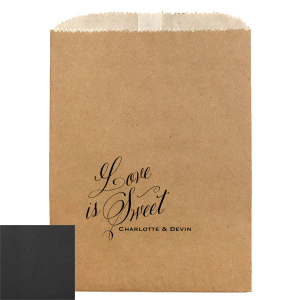 Script Love Is Sweet Bag