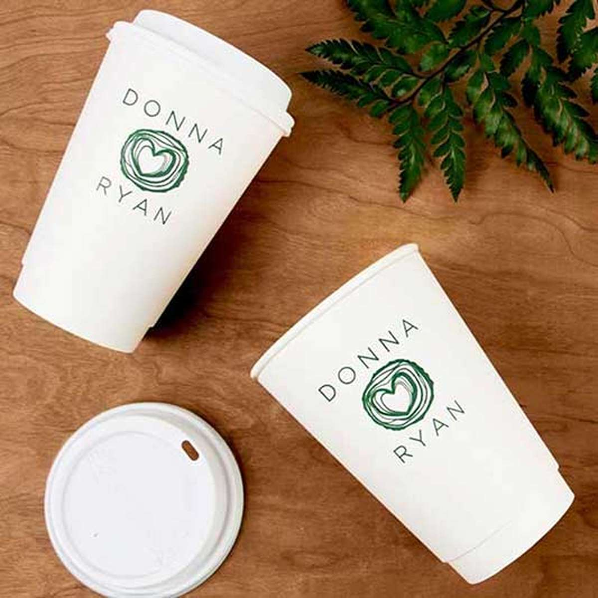 large custom coffee cups