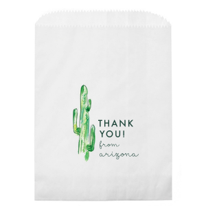 Our personalized Kraft Brown Photo/Full Color Party Bag with Matte Spruce Digital Print Colors will impress guests like no other. Make this party unforgettable.