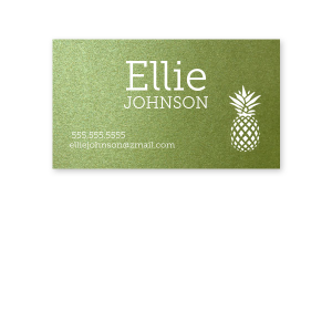 Pineapple Calling Card