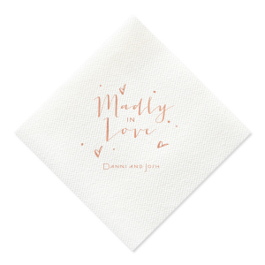 Madly In Love Napkin