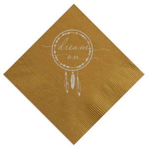 Dream On Napkin