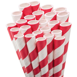 Personalized Red Stripe Striped Straw are a must-have for your next event—whatever the celebration!