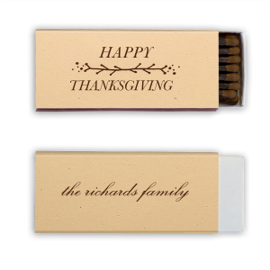 Personalized Natural Sand Candle Matchbox with Matte Chocolate Foil has a Leaf Vine graphic and is good for use in Frames themed parties and will look fabulous with your unique touch. Your guests will agree!