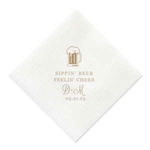 Sippin' Beer Napkin