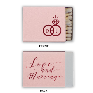 Love And Marriage Ring Match