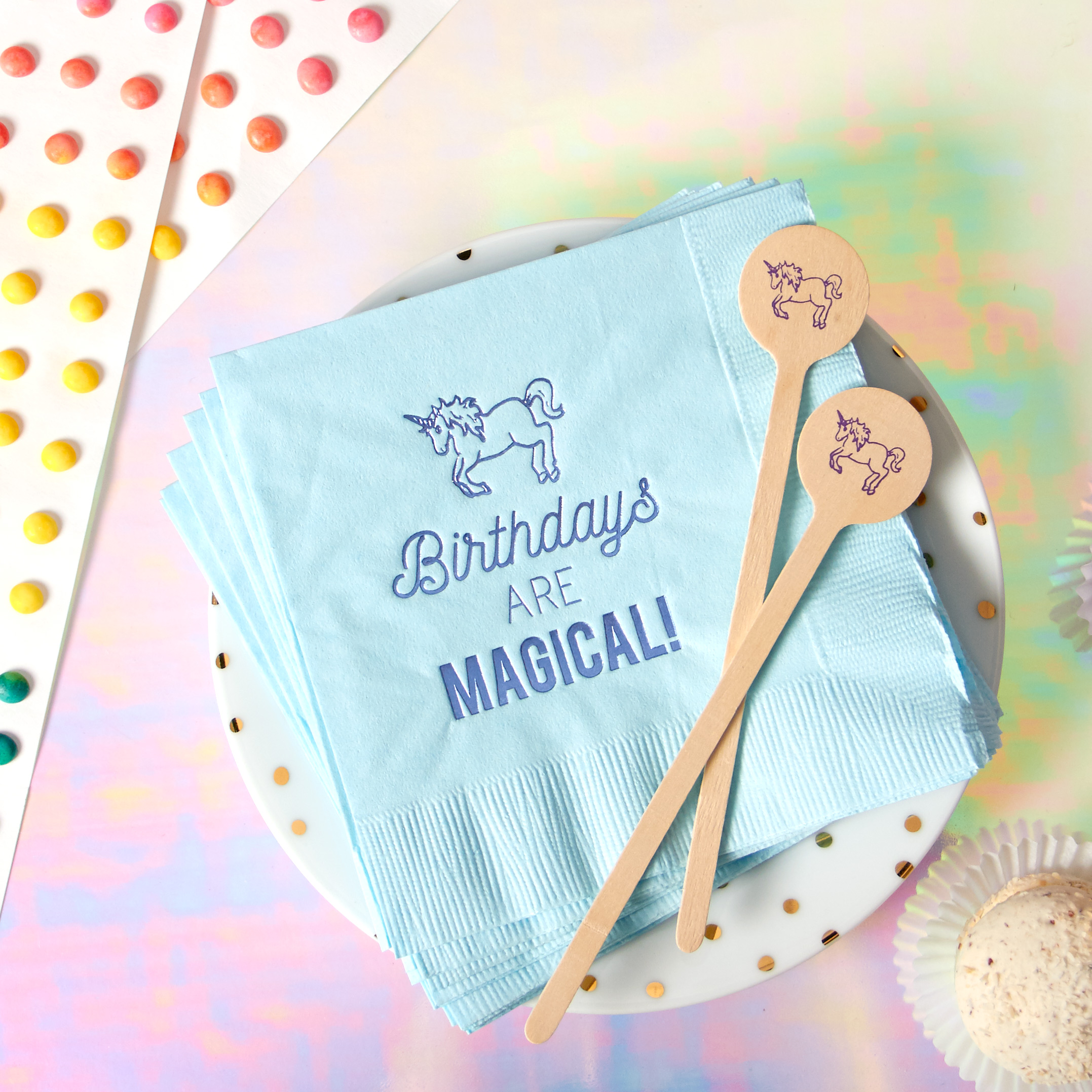 unicorn themed party ideas and unicorn themed party supplies